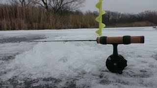 С этой блесной всегда будете с рыбой! Зимняя рыбалка 2019-2020. Первый лёд на реке