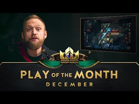 GWENT: THE WITCHER CARD GAME | Play of the Month (December 2018) thumbnail