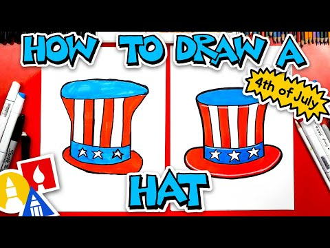 How To Draw A Fourth Of July Hat