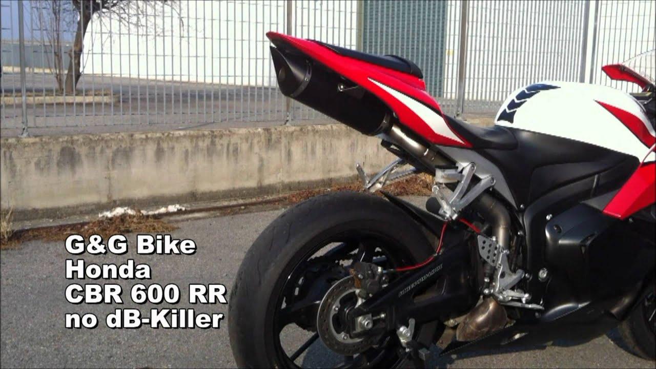 G G Exhaust Honda Cbr600rr 07 13 Youtube