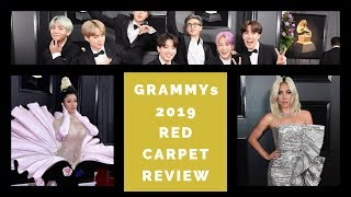 GRAMMYs 2019 Red Carpet Review | Lady Gaga, Cardi B, BTS & More