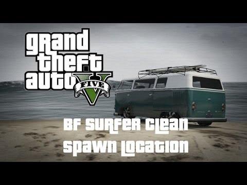 GTA  5 Online BF Surfer Clean Spawn Location
