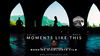 Villa Cimbrone Ravello Italy Wedding Film The Moments Like This 4K UHD