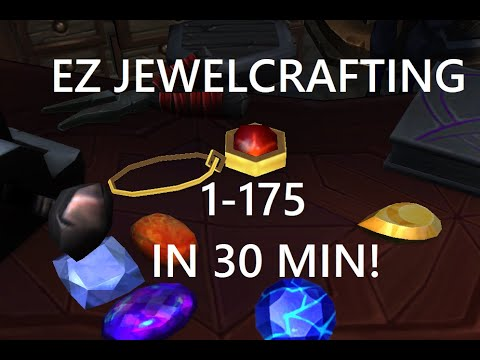 Fastest Way To Max Level Jewelcrafting In WoW BFA 1-175