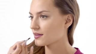 Видеоурок по макияжу: губы в технике омбре