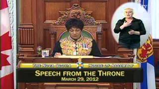 Speech from the Throne