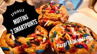 Sprinkle Muffins - WW - 2 SmartPoints