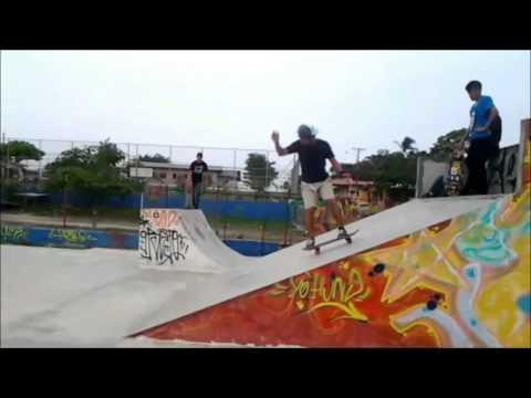 Moisés magallón skate in the west, la chorrera-panamá