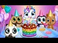 My Baby Unicorn - CHRISTMAS update - Cute Pet Care & Dress Up Makeover Fun Kids Games By TutoTOONS