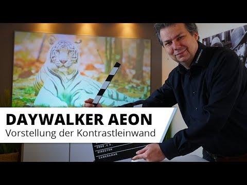 Daywalker Aeon - Vorstellung der Kontrastleinwand als Rahmenleinwand