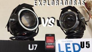 COMO SON LAS EXPLORADORAS LED U5 Y U7 (UNBOXING) - FAROS LED...