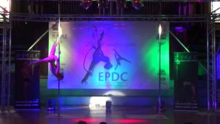 Yvette Dusol - SECOND Champions Pole - Emma's Pole Dancing Championship 2014