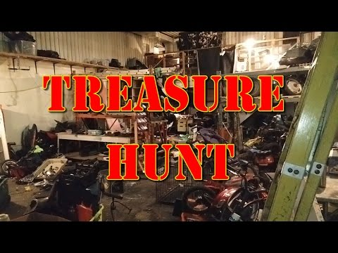 Treasure Hunt in the New Garage! (Help us name the Garage!)