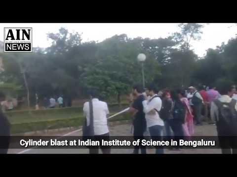Cylinder blast at Indian Institute of Science in Bengaluru