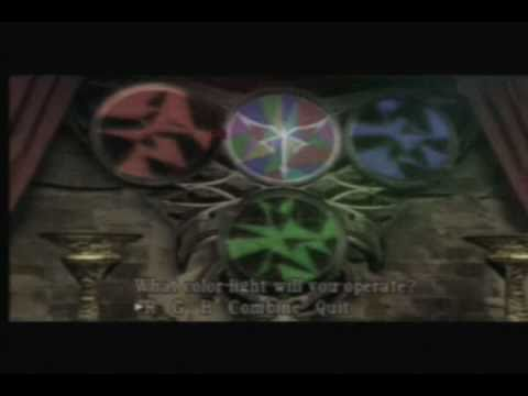Church puzzle [Resident Evil 4 - PS2]