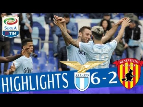 Lazio - Benevento 6-2 - Highlights - Giornata 30 - Serie A TIM 2017/18