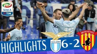 Lazio - Benevento 6-2 - Highlights - Giornata 30 - Serie A TIM 2017/18 streaming