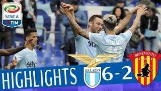 Lazio - Benevento 6-2 - Highlights - Giornata 30 - Serie A TIM 2017/18 streaming
