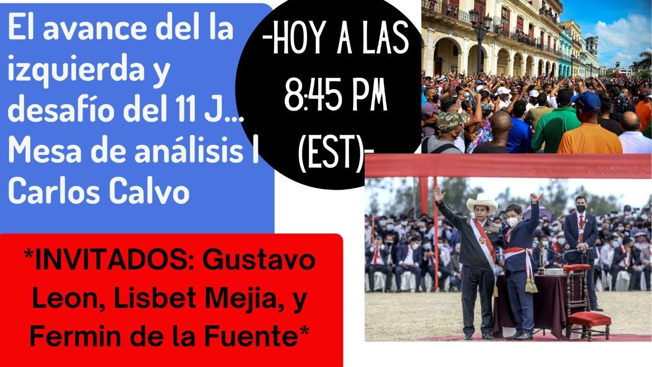El avance del la izquierda y desafío del 11 J... Mesa de análisis | Carlos Calvo