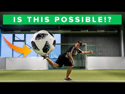 IMPOSSIBLE FREESTYLE SKILLS WITH GIANT FOOTBALL
