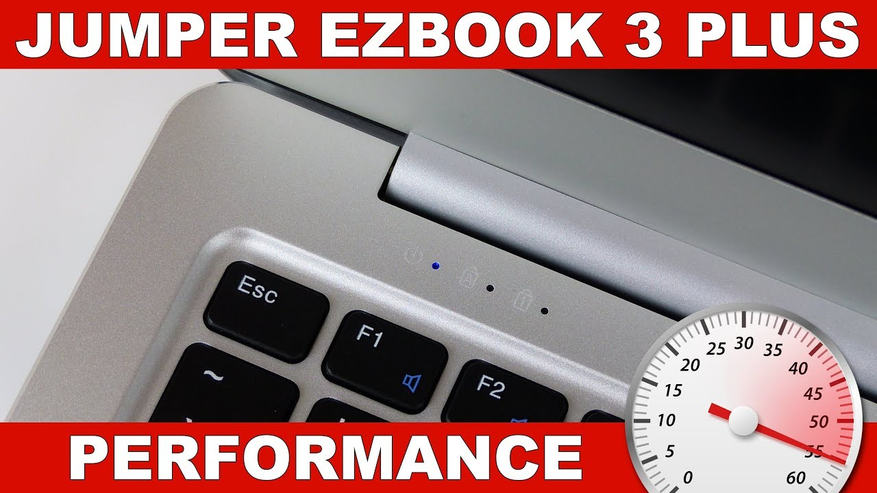 Jumper Ezbook 3 Plus Performance Gaming Benchmarks Youtube