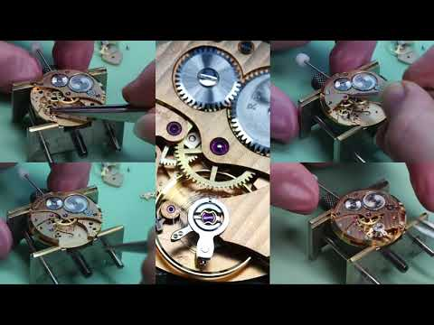 Revue Thommen Watch Movement Assembly