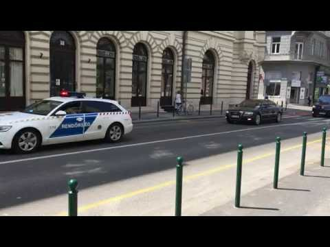 Motorcade of Sergey Lavrov, Foreign Minister of Russia, 2016.05.25.