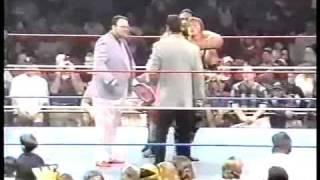 Yokozuna Owen Hart vs Men on a Mission part 2