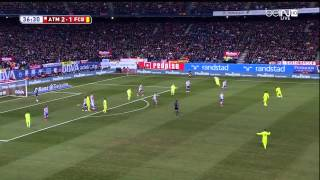 Atletico Madrid - Barcelona Highlights HD CdR 28.01.2015