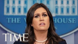 Sarah Sanders Delivers Briefing Amid Allegations From Omarosa Manigault-Newman | TIME