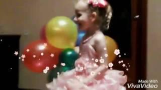 День Рождения???? Принцесса ????????????????????Воздушные шары????Birthday Princess ????Balloons ????????????????????????