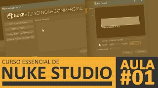 Aula#01 - Workspace, Importando Mídias