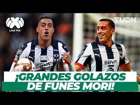 ¡Increíbles! Golazos de Funes Mori con Monterrey | TUDN