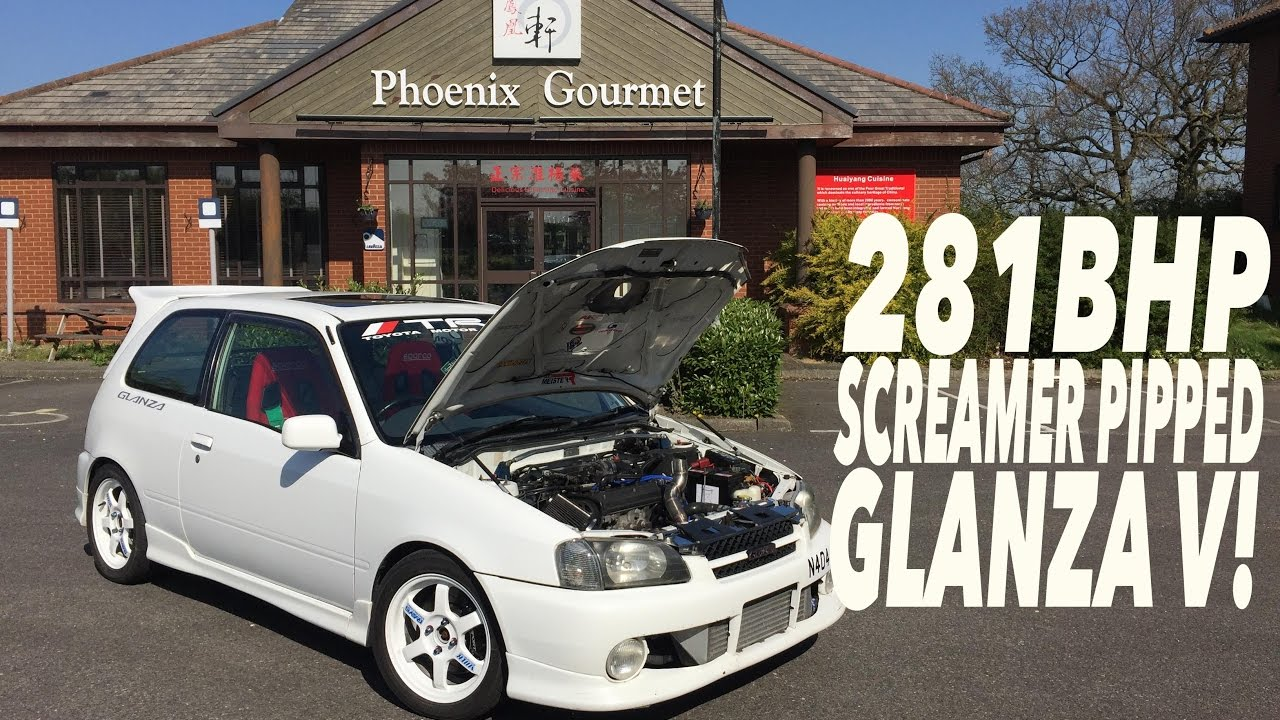 281BHP SCREAMER PIPPED TOYOTA GLANZA V REVIEW!