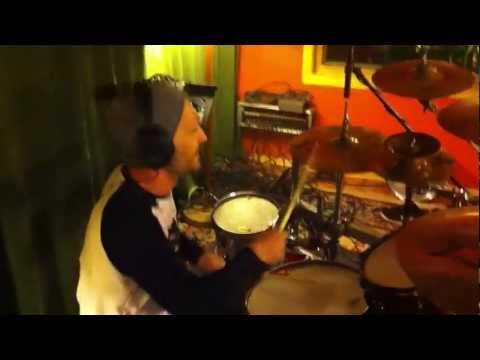 Acid Drinkers - Ślimak w Studio Perlazza - sesja nagraniowa La Part Du Diable