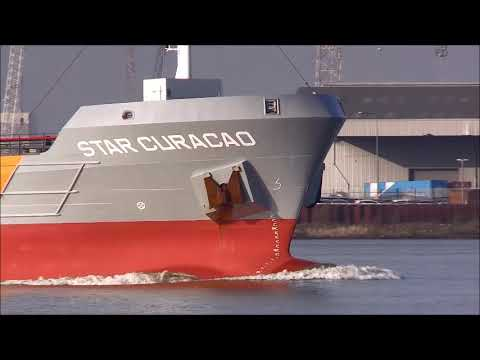 STAR CURACAO heading for Rotterdam 21/01/2019, Thames Shipping by R.A.S.
