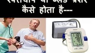 ब्लड प्रेशर (BP) या रक्तचाप कैसे होता है-  (Blood pressure ke karan in Hindi)
