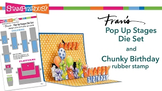 Pop Up Stages Chunky Birthday