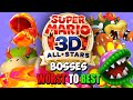 Ranking Every Boss in Super Mario 3D All-Stars - Worst to Best Compilation