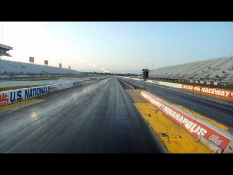 NASTY Hayabusa Launch at Lucas Oil Raceway's Wild Wednesdays
