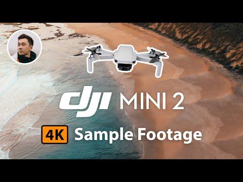 DJI Mini 2 - 4K Sample Footage | No Filter & No Color Grading