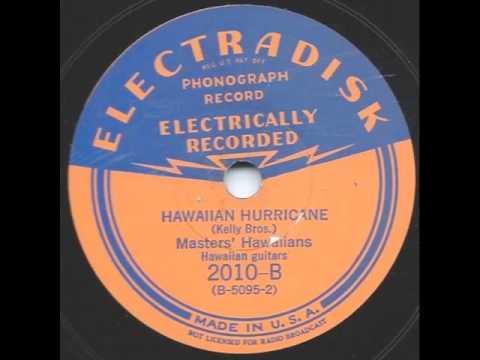 Hawaiian Hurricane - Masters' Hawaiians
