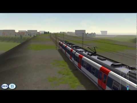 MSTS - Ligne B du RER - Saint-Rémy-lès-Chevreuses - Aéroport Charles de Gaulle Mission EFLA