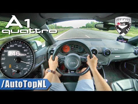 Audi A1 Quattro | 380HP 2.0 TFSI MTM | AUTOBAHN POV by AutoTopNL