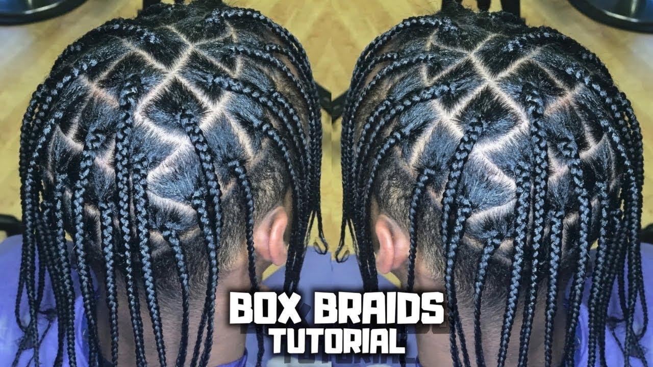 Men S Box Braids Tutorial Travis Scott Asap Rocky Lil