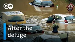Deadly floods in Germany: What remains