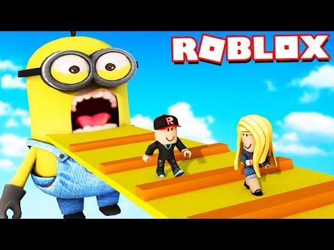 ROBLOX - UCIECZKA PRZED MINIONKAMI OBBY | Vito i Bella