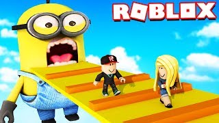 ROBLOX-ESCAPE MINIONKAMI OBBY | Vito and Bella