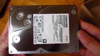 Toshiba DT01ACA300 3TB Hard Drive Unboxing in HD 1080p
