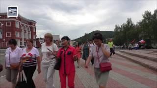 Мирное шествие после митинга в Горно-Алтайске